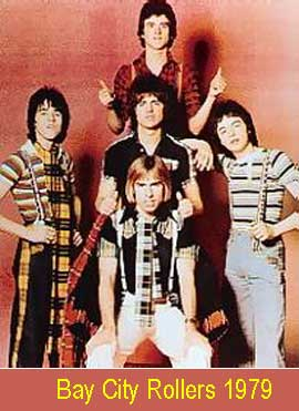 Bay City Rollers, lyrics and chords for easy guitar