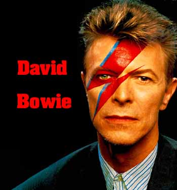 David Bowie, Lyrics and chords for easy guitar
