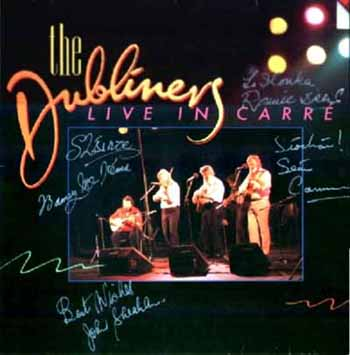 The Dubliners, guitar chords and lyrics