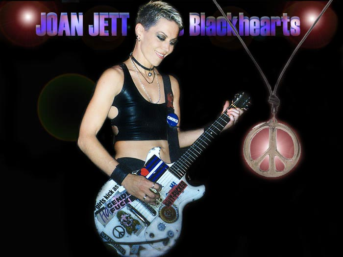 Joan Jett, guitar chords and lyrics